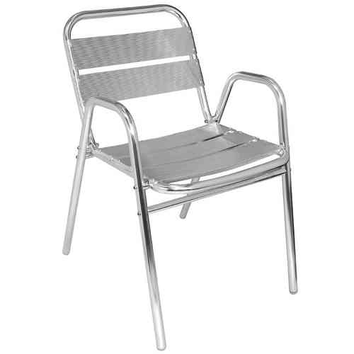 Chaise en Aluminium empilables