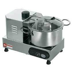 Cutter C4 inox professionnel, 4 litres