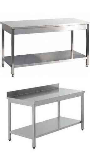 table inox AISI 304/441 serie 700