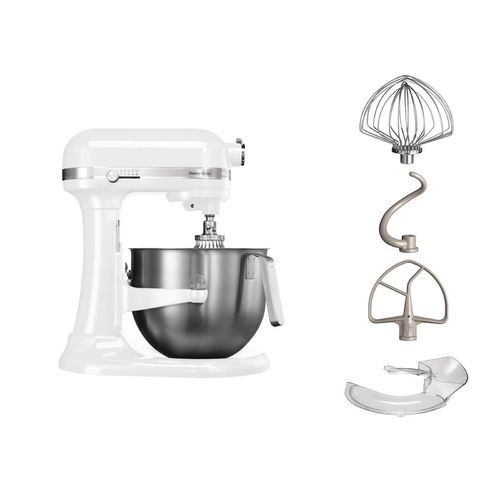 KITCHENAID HEAVY DUTY À BOL RELEVABLE DE 6,9L 5KSM7591 Blanc