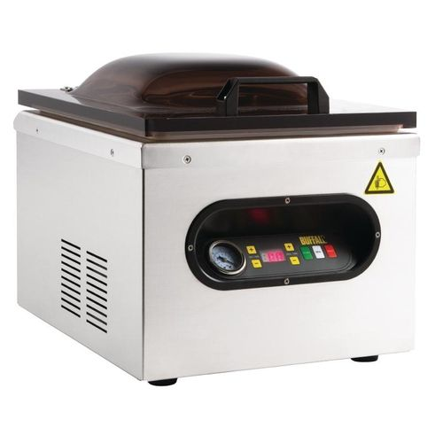 Machine sous vide automatique inox à cloche Buffalo