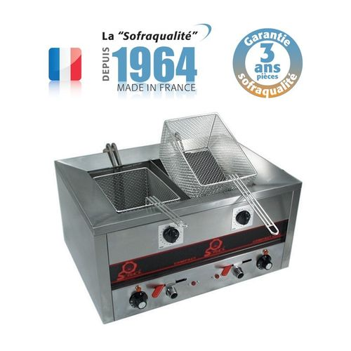 Friteuse Compact Line 500 - Snack II - FRIT.O.MATIC - 2x7 L (7000W-220V)